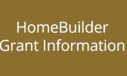 UPDATE – HomeBuilder Grant