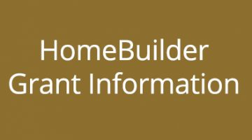 UPDATE – HomeBuilder Grant