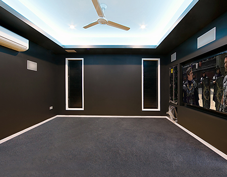 Jazz Homes Townsville - The Orchard Home Theatre